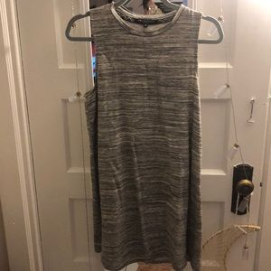 Grey dress super comfy and flattering